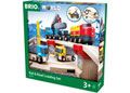 BRIO Set - Rail & Road Loading Set, 32 pieces