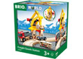 BRIO Station - Freight Goods Station, 6 pieces