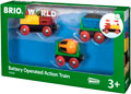 BRIO B/O - Battery Operated Action Train