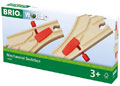 BRIO Tracks - Mechanical Switches, 2 pieces