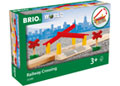 BRIO - Railway Crossing, 4 pieces