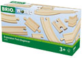 BRIO Tracks - Expansion Pack Beginner, 11 pieces