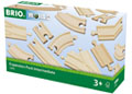 BRIO Tracks - Expansion Pack Intermediate, 16 pieces