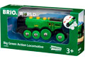 BRIO B/O - Big Green Action Locomotive