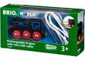 BRIO Train - Rechargeable Engine w mini USB cable