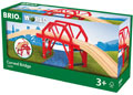 BRIO Bridge - Curved Bridge, 4 pieces