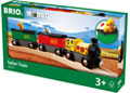 BRIO Train - Safari Train, 3 pieces