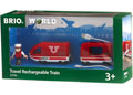 BRIO Train - Travel Rechargeable Train, 4 pieces