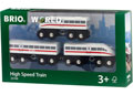 BRIO Train - High Speed Train with Sound, 3 pieces