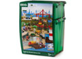 BRIO Set - Railway World Deluxe Set, 106 pieces