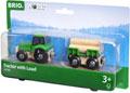 BRIO Vehicle - Farm Tractor with Load, 3 pieces
