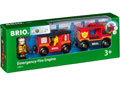 BRIO Vehicle - Emergency Fire Engine, 3 pieces