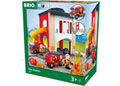 BRIO - Fire Station, 12 pieces