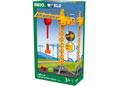 BRIO Crane - Construction Crane w Lights, 5 pcs