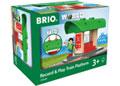 BRIO Destination - Record & Play Train Platform