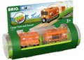BRIO Train - Cargo Train and Tunnel, 3 pieces