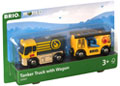BRIO Vehicle - Tanker Truck with Hose Wagon