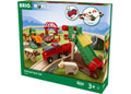 BRIO Set - Animal Farm Set, 30 pieces