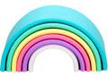 dena toys - RAINBOW 6pc Pastel