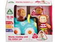 ELC - Toybox Monty Monkey & His Racing Car