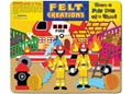 Felt Creations – Fire Engine