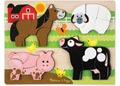 M&D - Farm Animals Chunky Jigsaw Puzzle