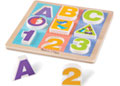M&D - First Play - Chunky Puzzle - ABC/123