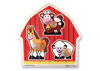 Melissa & Doug – Barn Animals Jumbo Knob Puzzle 3 Piece