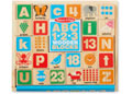 M&D - ABC-123 Wooden Blocks