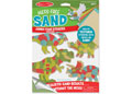 M&D - Mess-Free Sand -Foam Stickers- Dinosaurs