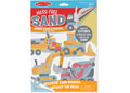 M&D -Mess-Free Sand-Foam Sticker- Construction