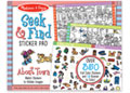 M&D - Seek & Find Sticker Pad - Around Town
