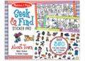 M&D - Seek & Find Sticker Pad - Around Town