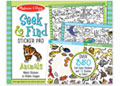 M&D - Seek & Find Sticker Pad- Animals