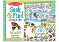 M&D - Seek & Find Sticker Pad- Animals