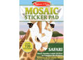 M&D - Mosaic Sticker Pad - Safari