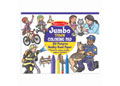 M&D - Jumbo Colouring Pad - Town