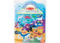 M&D - Reusable Puffy Sticker Play Set- Ocean