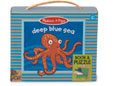M&D - Natural Play - Book and Puzzle - Deep Blue Sea