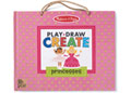 M&D - Natural Play - Play Draw Create - Princesses