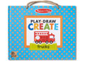 M&D - Natural Play - Play Draw Create - Trucks