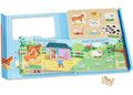 M&D - Book & Puzzle Play Set - On the Farm