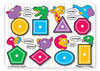 M&D - Shapes Peg Puzzle