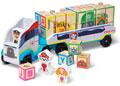 M&D - Paw Patrol - ABC Wooden Block Truck