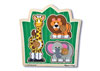 Melissa & Doug – Jungle Friends Knob Puzzle 3 Piece