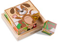 M&D – My First Wooden Cube Puzzle – Animals