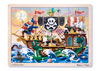 Melissa & Doug - Pirate Adventure Jigsaw - 48pc