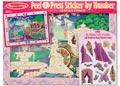 Melissa & Doug – Peel & Press – Fairytale Princess