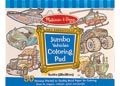 M&D - Jumbo Colouring Pad - Vehicles