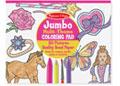Melissa & Doug - Jumbo Colouring Pad Pink - 27x35cm